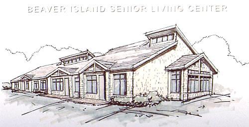 Beaver Island Senior Living Center elevation