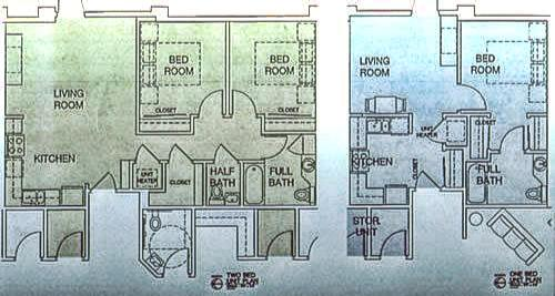 Beaver Island Senior Living Center floorplan